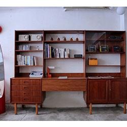 丹麥柚木壁櫃