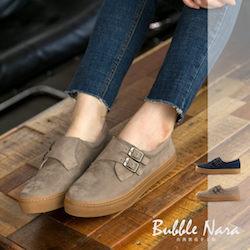 文青厚底氣墊鞋