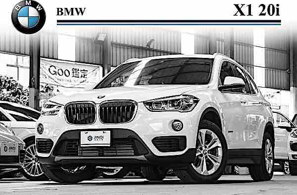 BMW X1 20i 2017 新款 免鑰 總代理