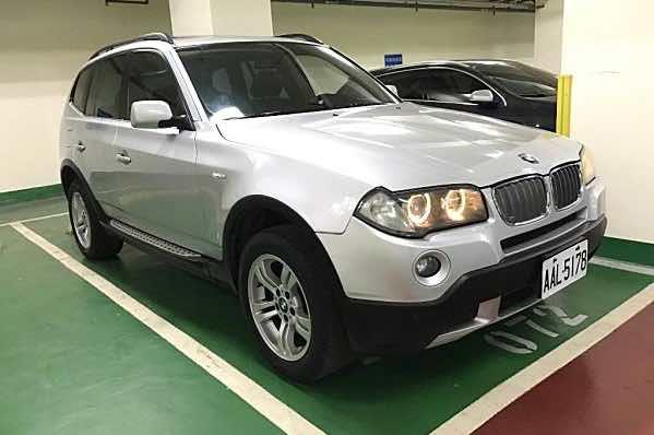 自售 2007年 BMW X3 一手車 無待修