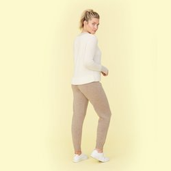 The Coziest Cashmere Jogger
