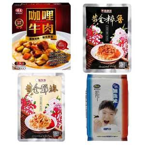 味王咖哩/鬍鬚張+雞絲飯/中興米