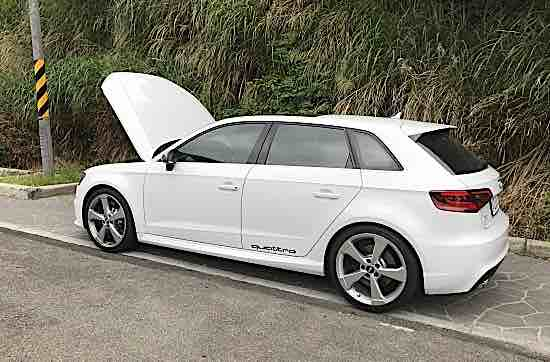 自售正16 Audi RS3 極新 多樣選配