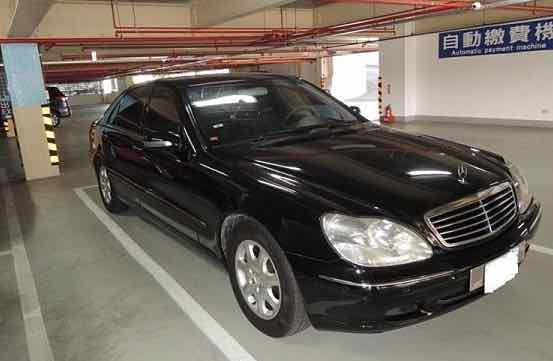 自售正2000年W220 S320 只跑7萬6千