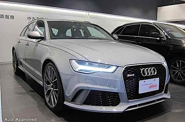 2017 RS 6 Avant performance