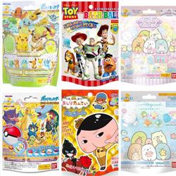 日本卡通圖案沐浴球