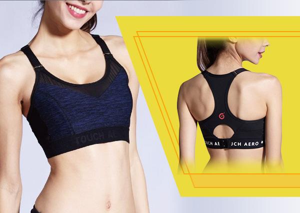 TOUCH AERO 調整型運動內衣/瑜珈韻律服