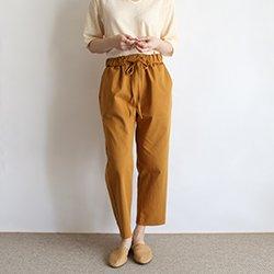 多色彩棉質九分褲清爽舒適款