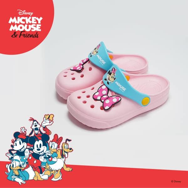 Disney迪士尼 米妮造型童鞋 卡通鞋