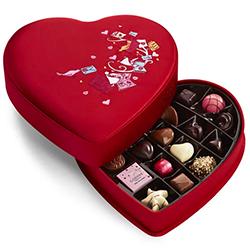Valentine's Day Fabric Heart Chocolate Gift Box