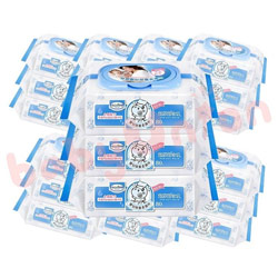 貝恩嬰兒保養柔濕巾80抽 24包