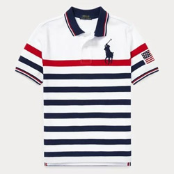 POLO Ralph Lauren條紋polo衫