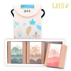 台灣茶皂三入禮盒
