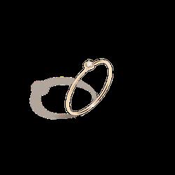 Mini Stackable Diamond Ring