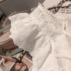 韓氣質蕾絲衫