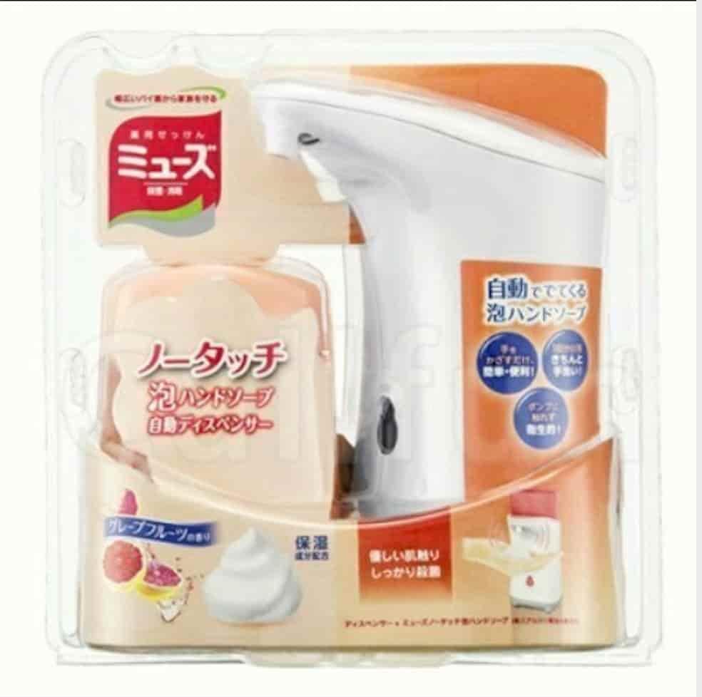 日本現貨 MUSE感應式泡沫給皂機自動給泡洗手乳機