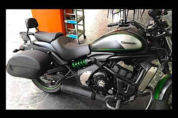 Kawasaki Vulcan 650+原廠配件