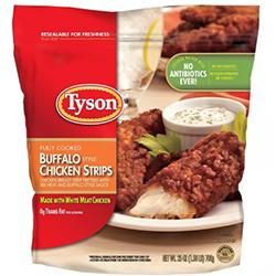 Tyson Buffalo Style Frozen Chicken Strips