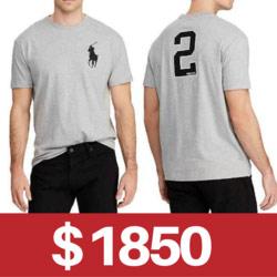 Polo Ralph Lauren大馬短袖T恤