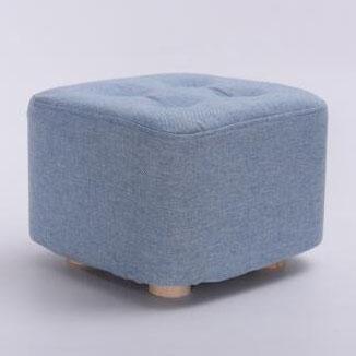 實木布藝沙發凳