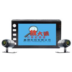 F5-1080 WIFI機 前後雙鏡頭機車行車紀錄器