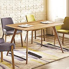 4尺木紋餐桌