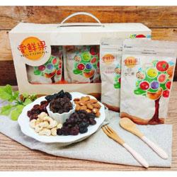 愛鮮果-果乾堅果禮盒(6袋組)