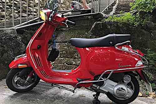售 Vespa S125ie 2011出廠法拉利紅