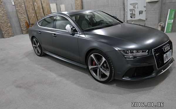 2015 Audi RS7 V8渦輪增壓引擎