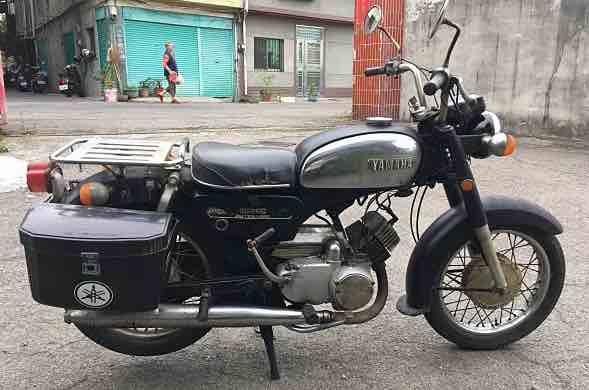 1975年日本原裝進口YAMAHA YB125