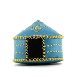 蒙古軟皮蒙古包鑰匙圈(五款)