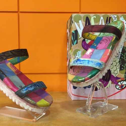 麥坎納專櫃羊皮氣墊鞋