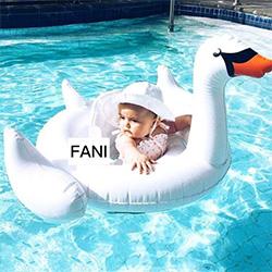 白天鵝兒童游泳圈