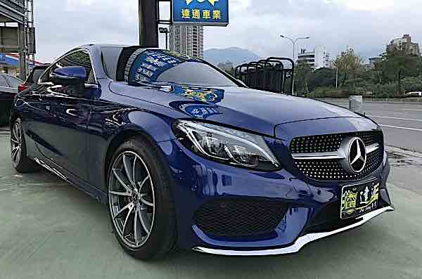 2017 BENZ C250 COUPE AMG