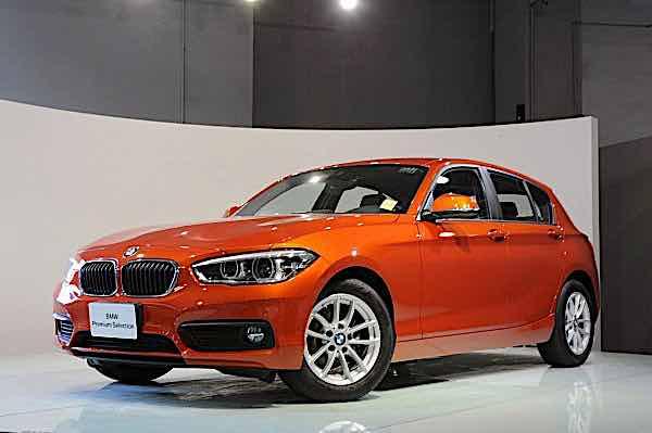 2017 BMW 118i 橘色