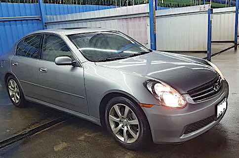 自售 2005年INFINITI小改款G35