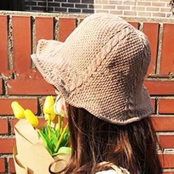 夏天必備竹編帽