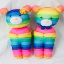 送禮首選-小花抱抱熊