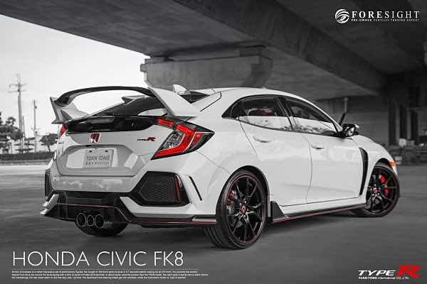 2018年 Honda Civic Type-R FK8