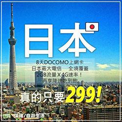 Docomo日本上網,多種客服最安心!