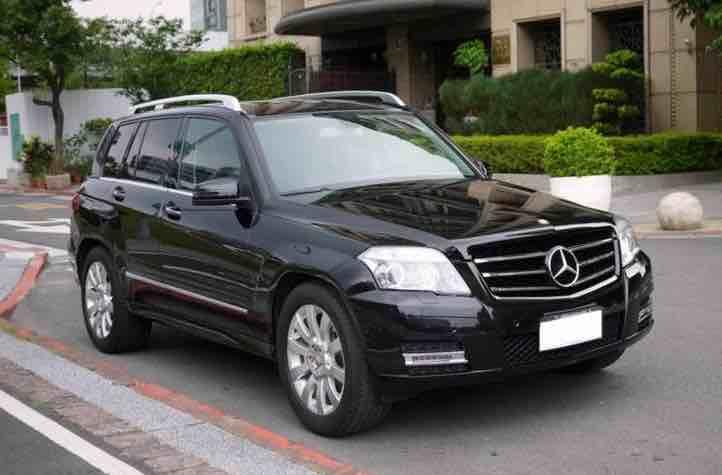日本歐規 正11年Benz GLK300 X204