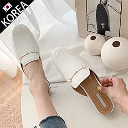經典金馬雙環釦穆勒鞋
