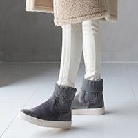 正韓針織襪套靴