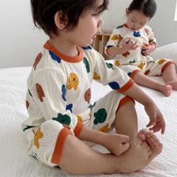 韓系會呼吸的棉睡衣