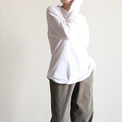 正韓基本款棉質長版上衣