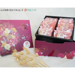 花開迎春─QQ雪花餅雙層禮盒(28入)