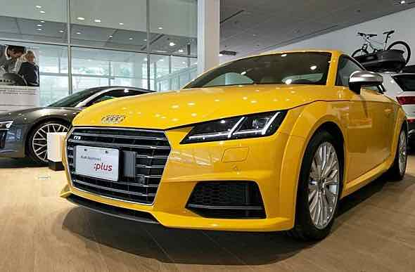 2017年9月掛牌 Audi TTS