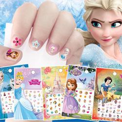 迪士尼正版兒童指甲貼紙