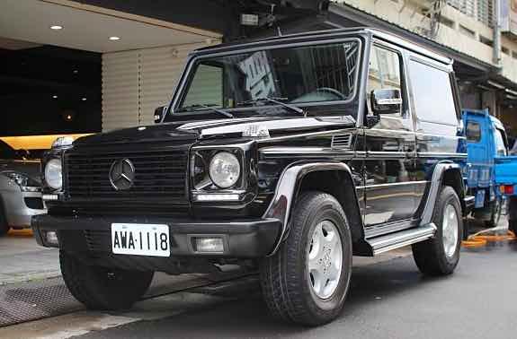 2004 BENZ W463 G320 三門短軸