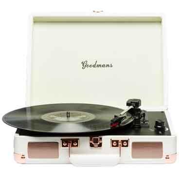 英國手提箱黑膠唱片機